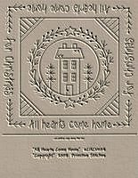 All Hearts Come Home Candle Mat