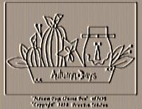 Autumn Days Cheese Box