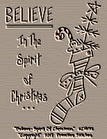 #CH132 Believe-In The Spirit Of Christmas