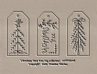 Christmas Stick Tree Tag Collection