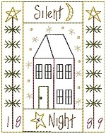 Machine-Silent Night Sampler 5x7