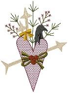Machine-Prim Valentine Heart 4x4