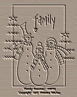 Family-Snowmen