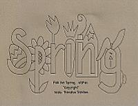 Folk Art Spring