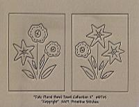 Folk Floral Hand Towel (2) Collection