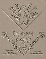 Gingerbread Blessing Breadcloth