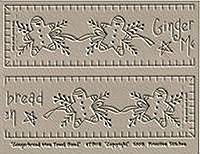 Gingerbread Men Towel Band