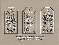 Gingerbread Tag Collection