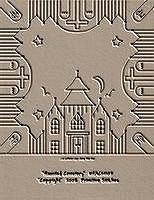 Haunted Cemetery Candle Mat