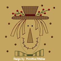 PS-MACHINE-Scarecrow Franny-5X7-Colorwork