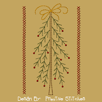 PS-MACHINE-Tree with Bow-5x7