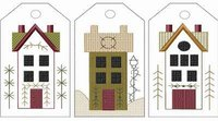Machine-Saltbox House Tag Collection-Large