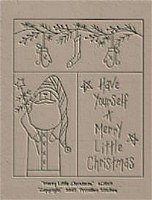 Merry Little Christmas Sampler