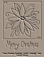 Merry Christmas-Poinsettia