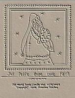 Old World Santa Candle Mat