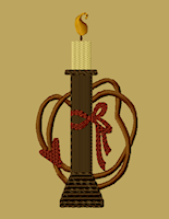 PS-MACHINE-Spool with Candle 4x4