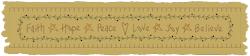 Machine-Faith, Hope, Peace Towel Band