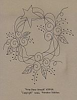Prim Rose Wreath
