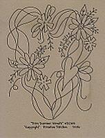 Prim Summer Wreath