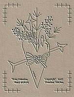 #VA104 Prim Valentine Heart
