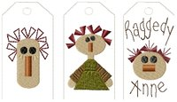 Machine-Raggedy Anne Tag Collection-Large