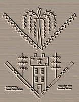 Saltbox/Willow Bread Cloth