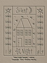Silent Night Sampler-Saltbox