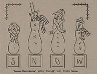 Snowman Block Collection