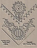 Sunflower Crow Bread Cloth