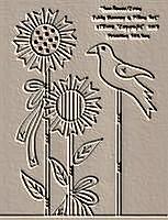 Sunflower Crow Table Runner