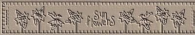 Sunflower Row Towel Band