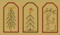 PS-MACHINE-Christmas Stick Tree Tag Collection-Large