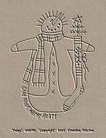 #WI131 Twigs-Snowman
