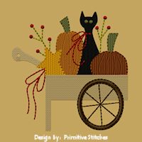 PS-MACHINE-Pumpkin Cart-5x7-Fill