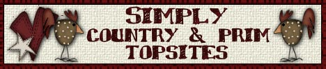 Simply Country and Prim Top Sites